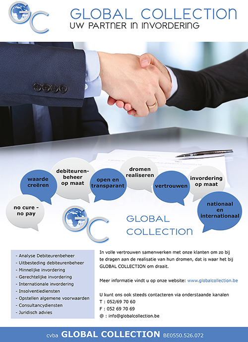 A4 Flyer Global Collection site